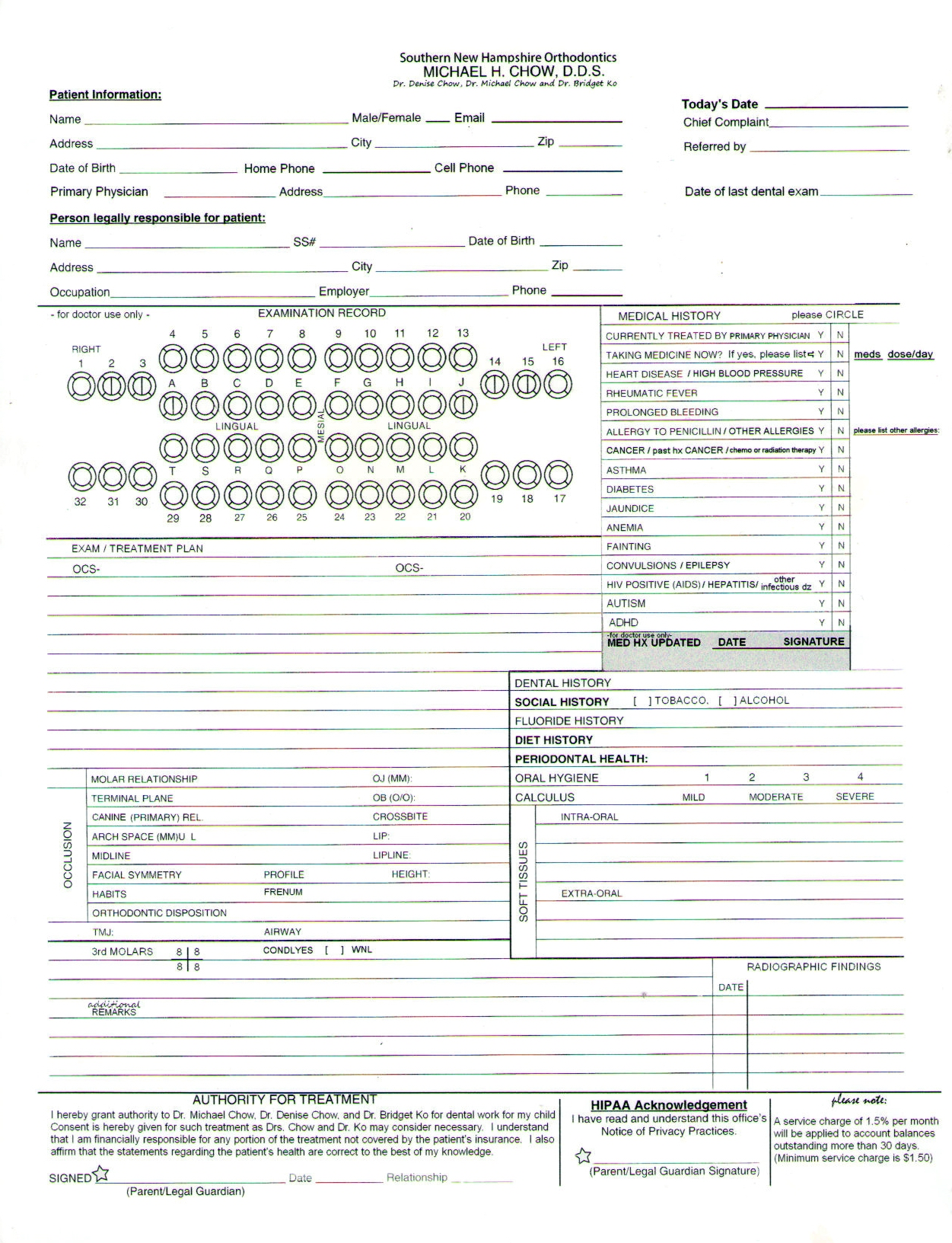appointment sheet printable