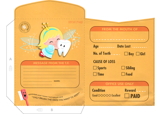 Southern new hampshire orthodontics and children 39 s dentistry for Free printable tooth fairy certificate template
